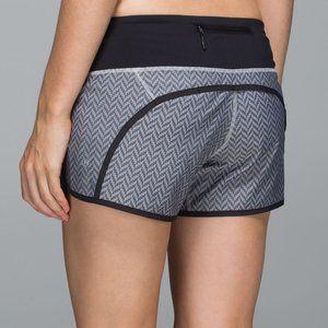 Size 4 - Lululemon Run Times Short *2-way Stretch